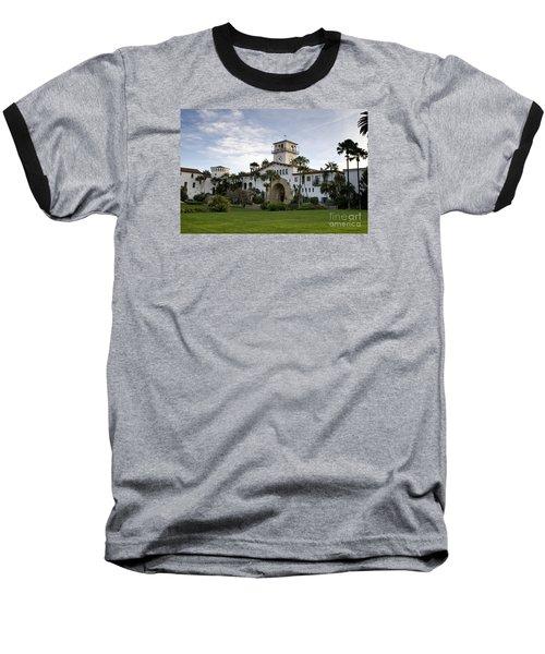 Santa Barbara Baseball T-Shirt by David Millenheft