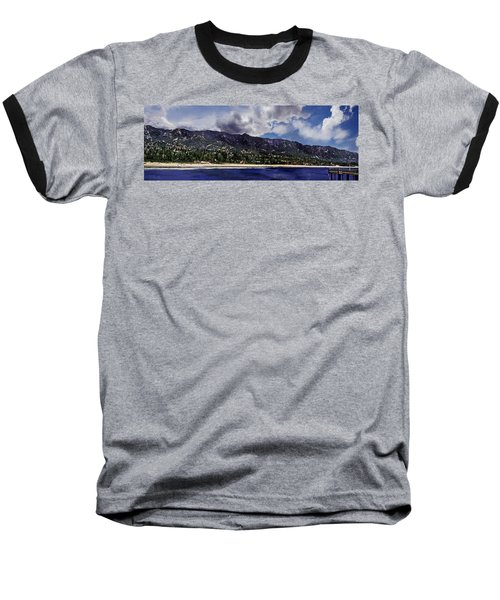 Santa Barbara Panorama Baseball T-Shirt