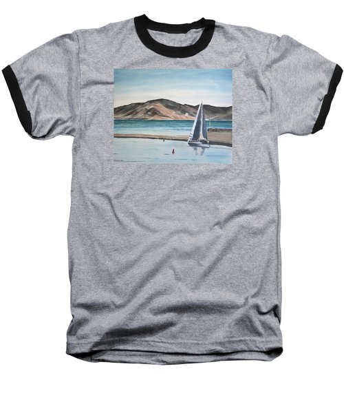 Santa Barbara Sailing Baseball T-Shirt