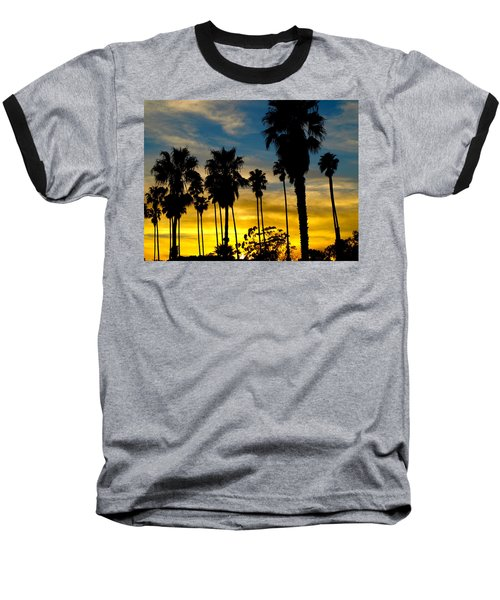 Santa Barbara Sunset Baseball T-Shirt