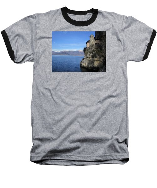 Santa Caterina - Lago Maggiore Baseball T-Shirt by Travel Pics