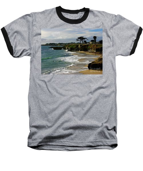 Santa Cruz Beach Baseball T-Shirt