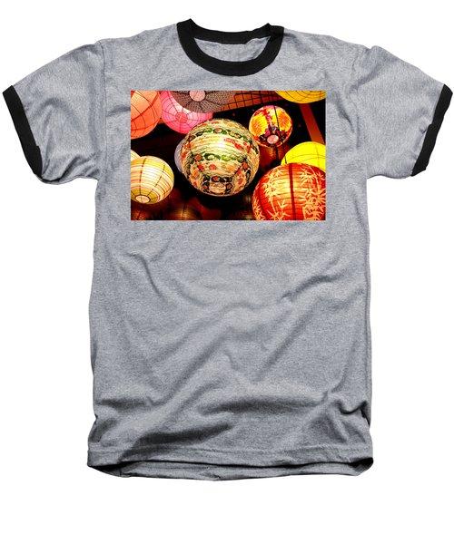 Santa Cruz Lights Baseball T-Shirt