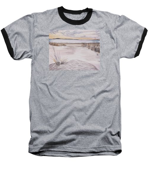Santa Cruz Sunset Baseball T-Shirt