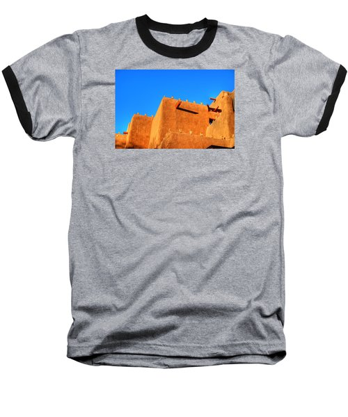Santa Fe Adobe Baseball T-Shirt