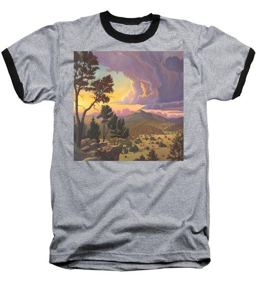 Santa Fe Baldy - Detail Baseball T-Shirt