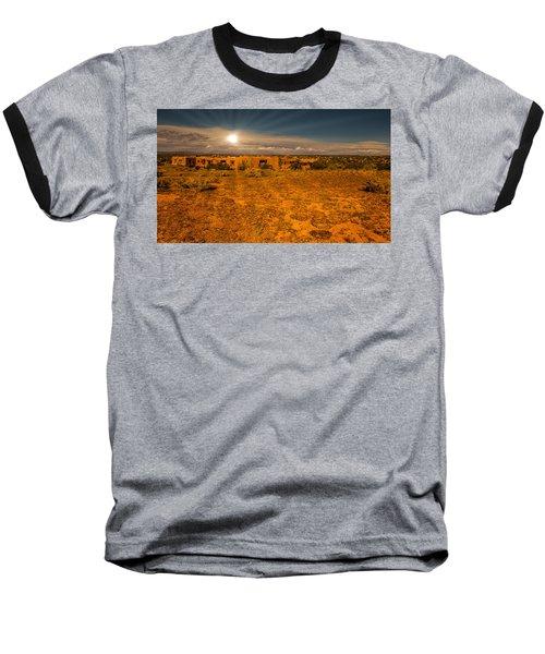 Santa Fe Landscape Baseball T-Shirt