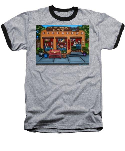 Santa Fe Restaurant Baseball T-Shirt
