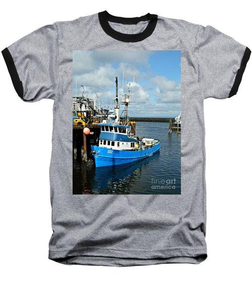 Santa Maria Offload Baseball T-Shirt by Chalet Roome-Rigdon
