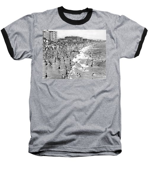 Santa Monica Beach In December Baseball T-Shirt