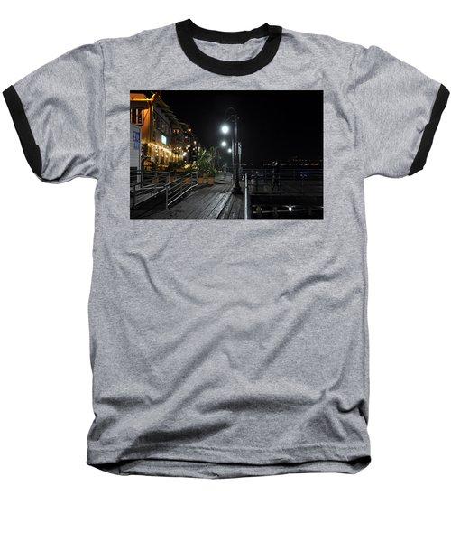 Santa Monica Pier Baseball T-Shirt