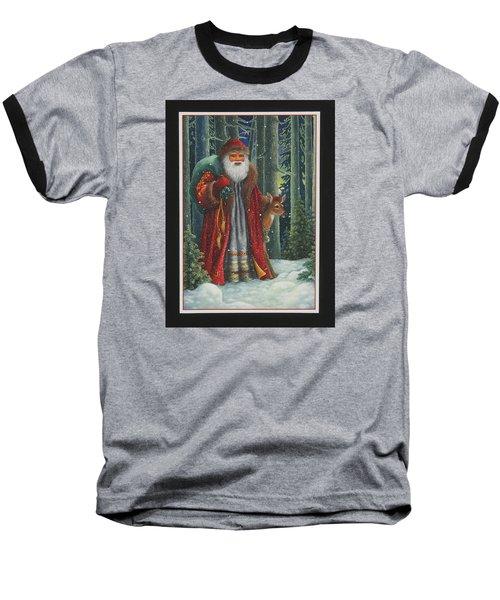 Santa's Journey Baseball T-Shirt