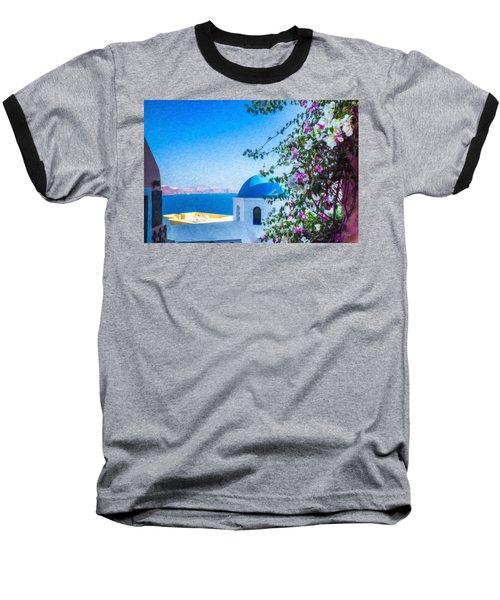 Santorini Grk4166 Baseball T-Shirt