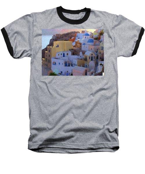 Santorini Grk6424 Baseball T-Shirt