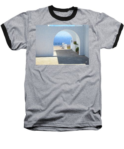 Santorini Grk8681 Baseball T-Shirt