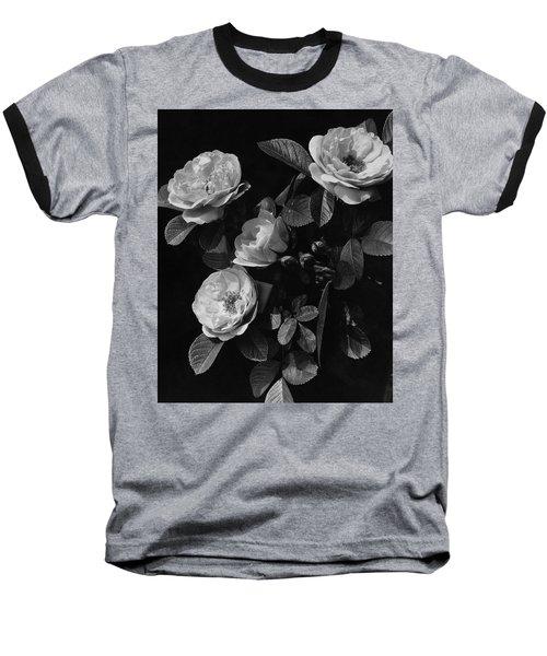 Sarah Van Fleet Variety Of Roses Baseball T-Shirt