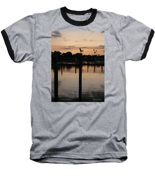 Baseball T-Shirt featuring the photograph Sarasota Sunset by Emmy Marie Vickers