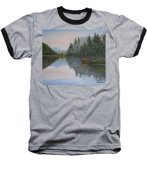 Sarita Lake On Vancouver Island Baseball T-Shirt
