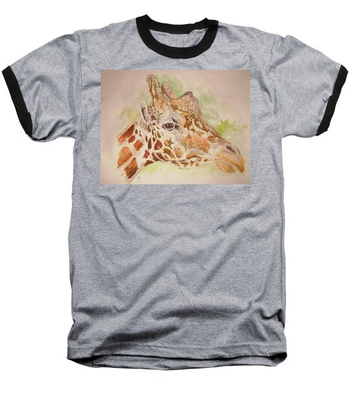 Savanna Giraffe Baseball T-Shirt