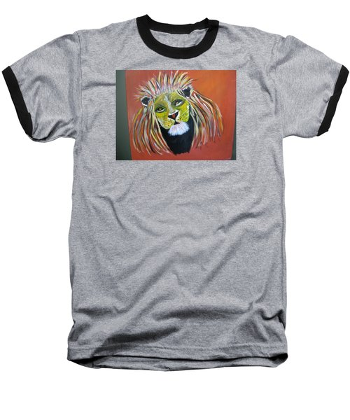 Baseball T-Shirt featuring the painting Savannah Lord by Sharyn Winters