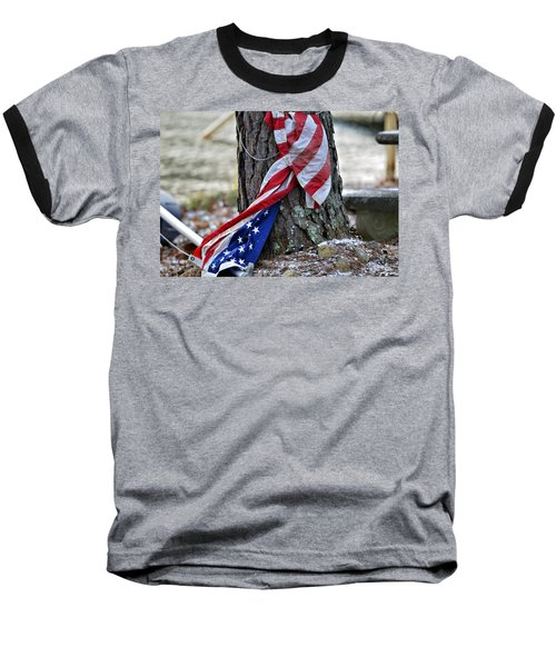Save The Flag Baseball T-Shirt