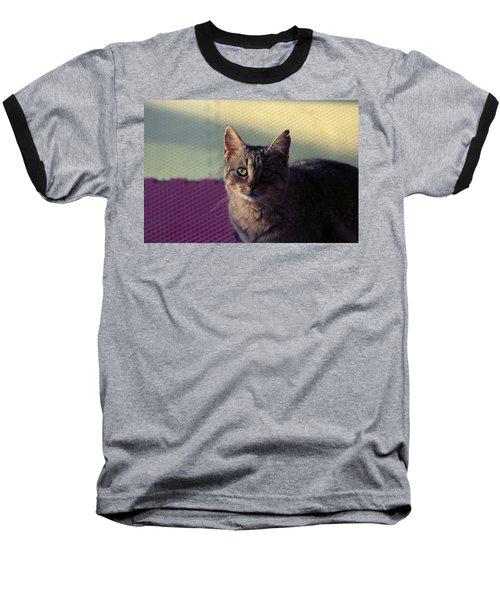 Saw Tooth Baseball T-Shirt