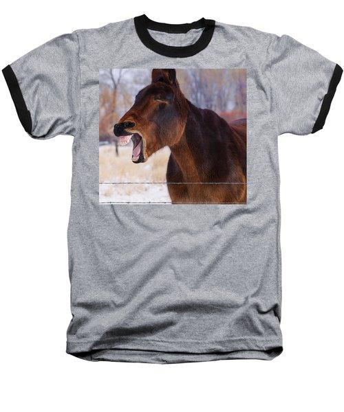 Say Ahhhh Baseball T-Shirt