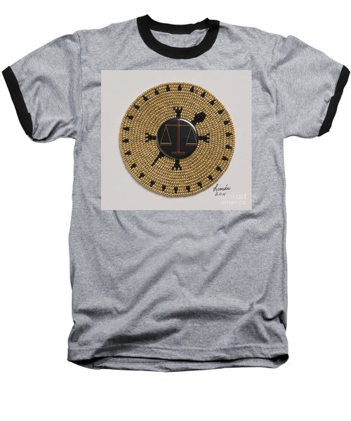 Scales Of Justice Baseball T-Shirt