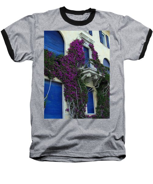 Baseball T-Shirt featuring the photograph Scaling The Wall by Natalie Ortiz