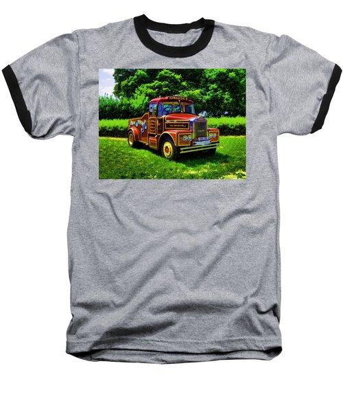 Scammell Highwayman - Color Baseball T-Shirt