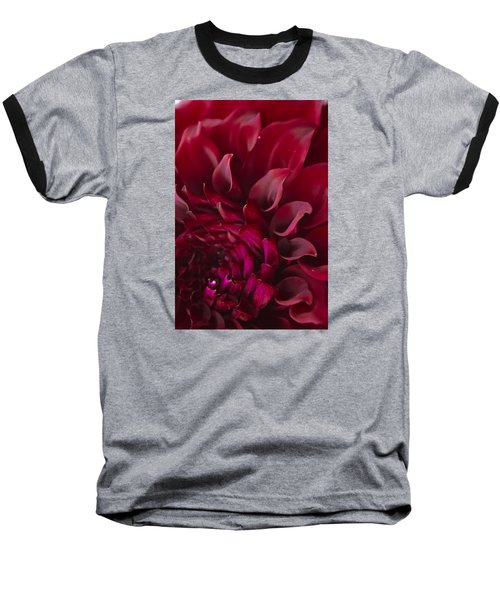 Baseball T-Shirt featuring the photograph Scarlet Spiral by Joel Loftus