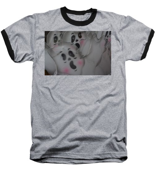 Baseball T-Shirt featuring the photograph Scary Ghosts by Patrice Zinck