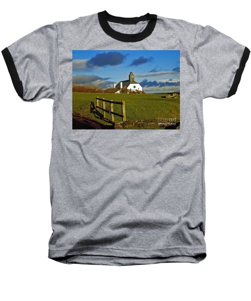 Scene From Giants Causeway Baseball T-Shirt