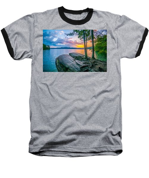 Scenery Around Lake Jocasse Gorge Baseball T-Shirt