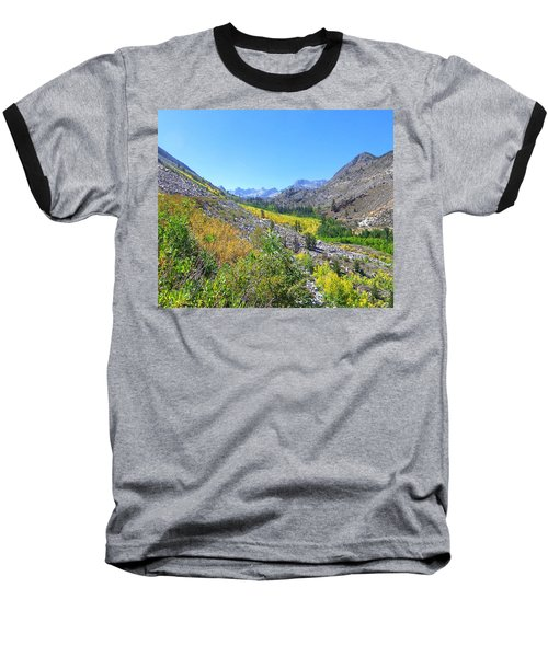 Baseball T-Shirt featuring the photograph Scenic Peace by Marilyn Diaz