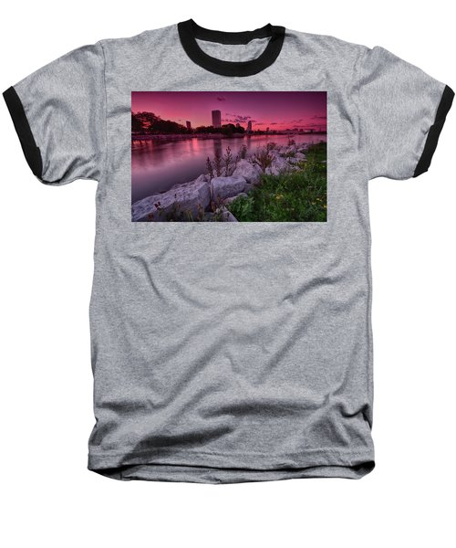 Scenic Sunset Baseball T-Shirt