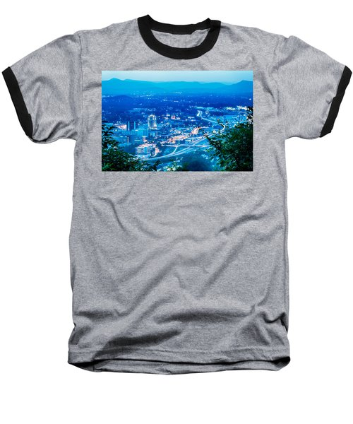 Baseball T-Shirt featuring the photograph Scenics Around Mill Mountain Roanoke Virginia Usa by Alex Grichenko