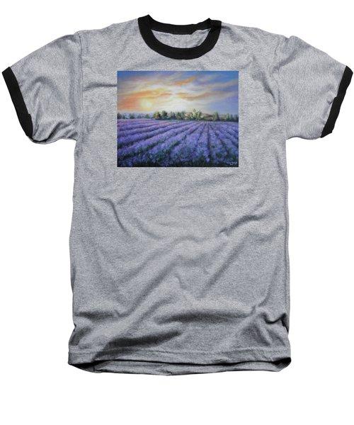 Scented Field Baseball T-Shirt