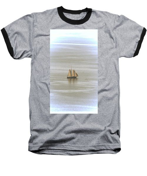 Schooner 1 Baseball T-Shirt by Joe Faherty