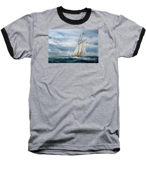 Schooner Adventuress Baseball T-Shirt