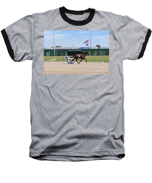 D3w-206 Scioto Downs Photo Baseball T-Shirt