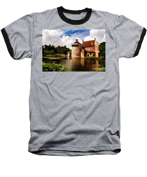 Scotney Castle Baseball T-Shirt