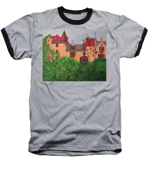 Scottish Castle Baseball T-Shirt