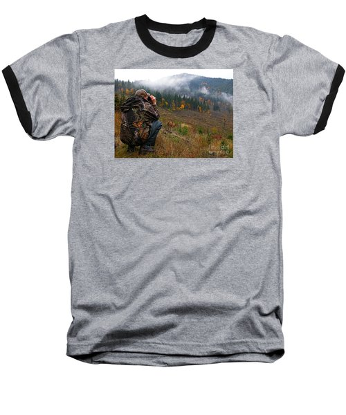 Baseball T-Shirt featuring the photograph Scouting by Nick  Boren