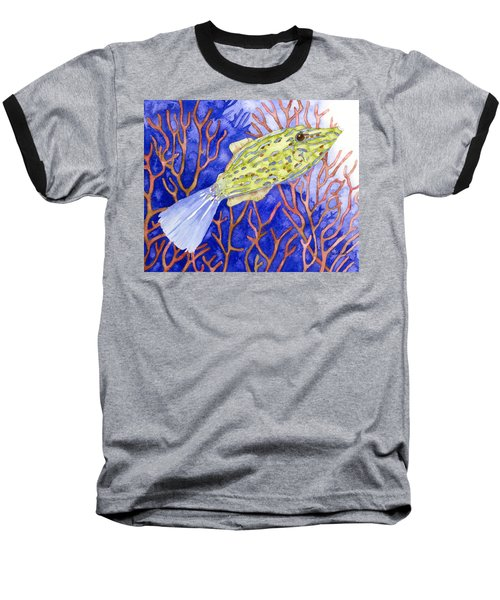 Scrawled Filefish Baseball T-Shirt
