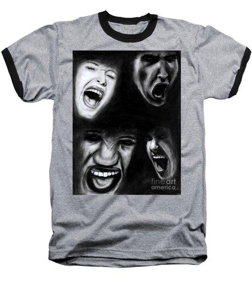 Scream Baseball T-Shirt