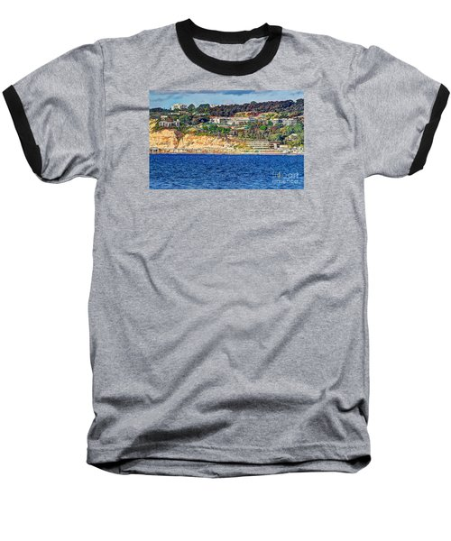 Scripps Institute Of Oceanography Baseball T-Shirt by Jim Carrell