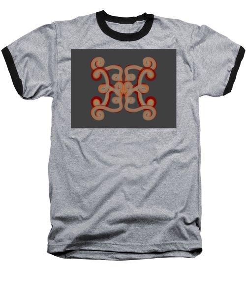Baseball T-Shirt featuring the digital art Scroll by Christine Fournier