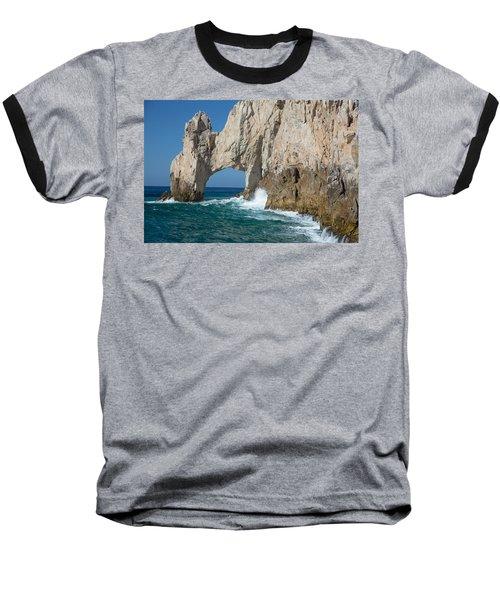 Sea Arch El Arco De Cabo San Lucas Baseball T-Shirt