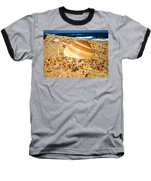 Sea Beyond The Shell Baseball T-Shirt